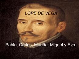 LOPE DE VEGA - Exposicionesorales