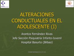 PSICOPATOLOGIA INFANTO-JUVENIL: CLINICA Y MANEJO