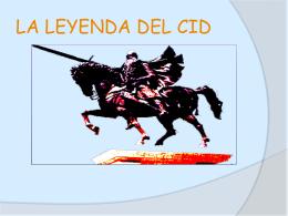 LA LEYENDA DEL CID - Ciencias Soci@les | Blog de Dto