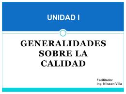 UNIDAD I - Nilsson Villa