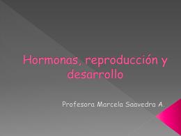 II Unidad: HORMONAS, REPRODUCCION Y DESARROLLO