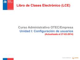 Curso Administrativo OTEC/Empresa Unidad I: …