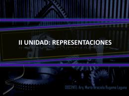 II UNIDAD: REPRESENTACIONES