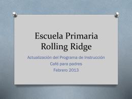 Rolling Ridge Elementary