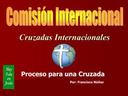Cruzadas Internacionales