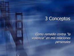 3 Conceptos