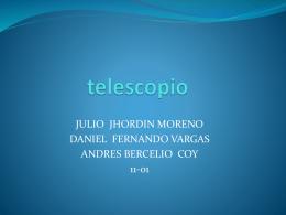 telescopio - fisica11cb2015