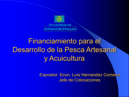 APOYO FINANCIERO DEL FONDEPES