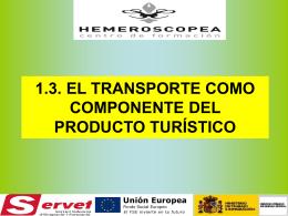 EL TRANSPORTE COMO COMPONENTE DEL PRODUCTO …