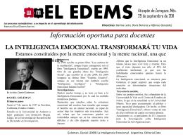 EL EDEMS - Mi Portafolio Karina Leon | Especialidad para