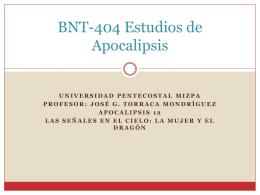 BNT-404 Estudios de Apocalipsis