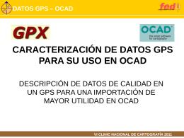 GPS - OCAD