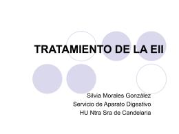 TRATAMIENTO DE LA EII - SCPD Sociedad Canaria de