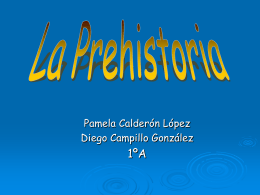 LA PREHISTORIA - NEA :: Acceso