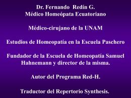 MATERIA MEDICA - Homeopatia.com.mx