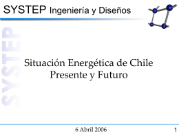 Central Chile Gas & Power Market Electricity Market