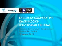 ENCUESTA COOPERATIVA IMAGINACCION UNIVERSIDAD …