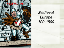 Medieval Europe 500-1500 - East Syracuse