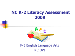 Literacy Assessment 101: Unpacking the Reading …