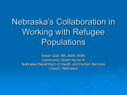 Nebraska's Human Resource Development Plan