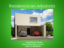 Residencia en Arbolada