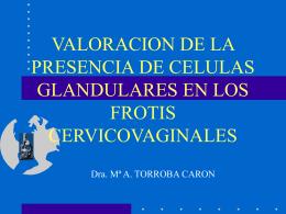 VALORACION DE LA PRESENCIA DE CELULAS …