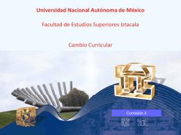 Diapositiva 1 - Facultad de Estudios Superiores Iztacala