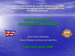 Costa Rica - rimais.net