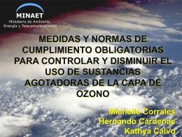 Diapositiva 1 - El Colegio de Quimicos de Costa Rica