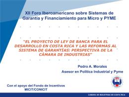 COSTA RICA Y EL SECTOR INDUSTRIAL EN EL COMERCIO …