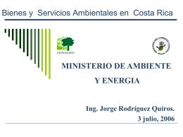 Pago de Servicios Ambientales en Costa Rica