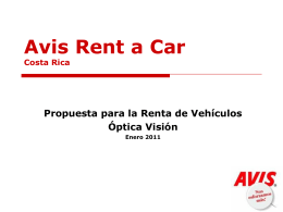 Avis Rent a Car Costa Rica