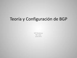Implementando BGP