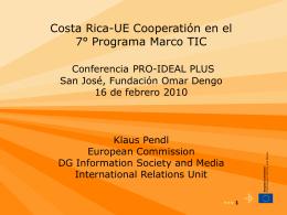 FP7 ICT WP 2007