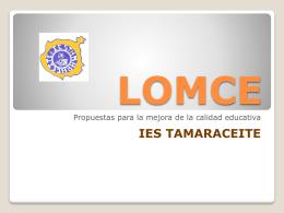 LOMCE - Gobierno de Canarias
