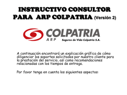 FORMATOS ARP - Bienvenidos | SEQ Consultores