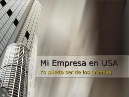Mi Empresa en USA