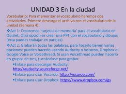 UNIDAD 3 - Lee County Schools / Homepage