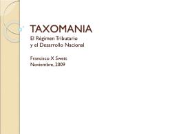 TAXOMANIA