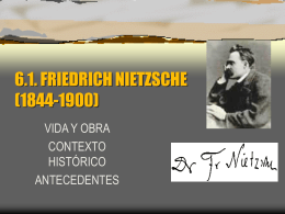 3.2. FRIEDRICH NIETZSCHE (1844