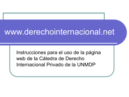 www.derechointernacional.net