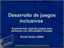 Desarrollo de juegos inclusivos