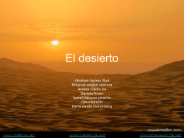 El desierto - Instituto Carlos Gracida A.C.