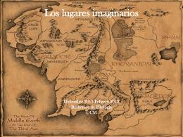 Los lugares imaginarios - UCM