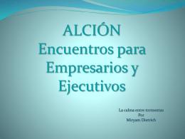 ALCION Parte 2
