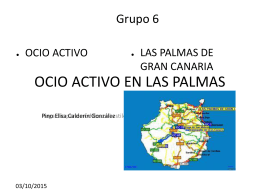 OCIO ACTIVO EN LAS PALMAS