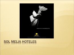 SOL MELIA HOTELES