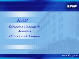ARGENTINA Residuos - AFIP