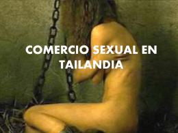COMERCIO SEXUAL EN TAILANDIA