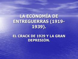 LA CRISIS DE 1929 - IES Virgen del Puerto